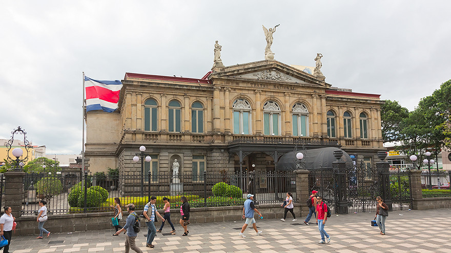 National Theatre of Costa Rica in San Jose, Costa Rica. Source: Shutterstock